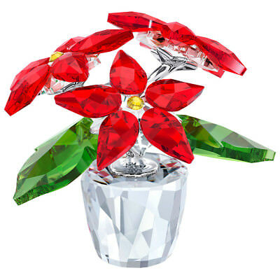 NEW Swarovski Poinsettia Small