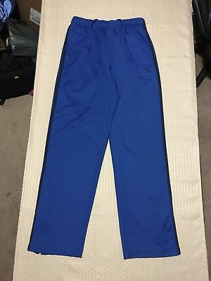 Nike Woman's Blue Track Athletic Warm Up Pants Size XL
