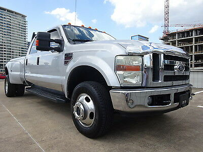 2008 Ford F-350 LARIAT 2008 FORD F350 FX4 LARIAT DIESEL DRIVES GREAT CREWCAB DUALLY WARRANTY EXTRACLEAN