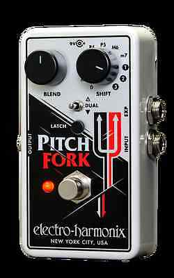 Electro-Harmonix Pitch Fork Polyphonic Pitch Shifter with AU Power Supply