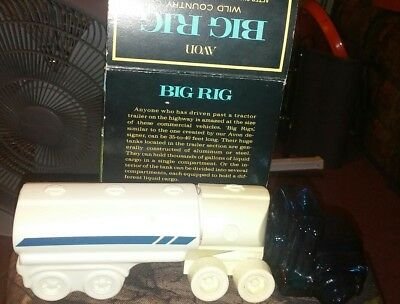 Vtg 1975 AVON BIG RIG Wild Country After Shave & Talc NEW IN BOX-FREE SHIPPING