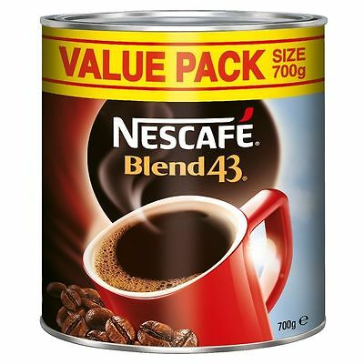 NEW Nescafe Coffee Blend Instant Coffee 700g Coffee For Staff
