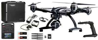 Yuneec Q500 4K Typhoon Quadcopter With Gimbal & Camera + Bonus Wizard Remote