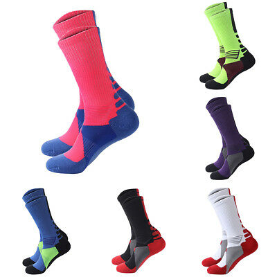 1 Pair Men Women Outdoor Riding Cycling Sports Socks Breathable Footwear Salable