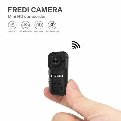 FREDI 1080P HD Mini Portable Spy Indoor WiFi Security IP Hidden Camera CA