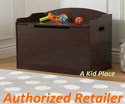 Marvelous Kidkraft Austin Wooden Toy Box Games Storage Bench Chest Caraccident5 Cool Chair Designs And Ideas Caraccident5Info