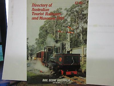 Directory of Australia Tourist Railways and Museums 1993