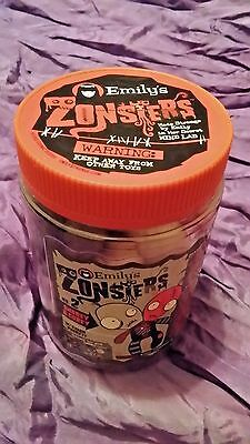 Nib Emily The Strange Emily's Zonsters Monster No. 2 Snorey Gorey 2 Headed Doll