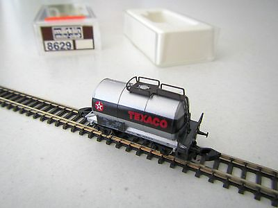 "Marklin mini-club 8629 Tank Wagon ""TEXACO"" Boxed 1:220 Z Scale"