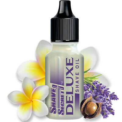 Shave Deluxe Shaving Oil 18.75 ML By Shave Secret For Men and Women