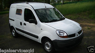 renault kangoo 2009 X76 van 1.6L auto 2 seater 5 door abs airbags make a offer!