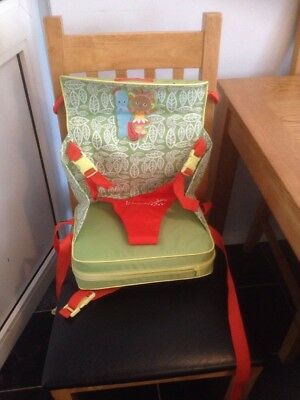 Mothercare In The Night Garden travel booster seat Fab Condition