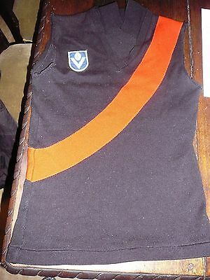 afl vfl badge 14 child training  jersey knitted jumper brandella essendon bomber