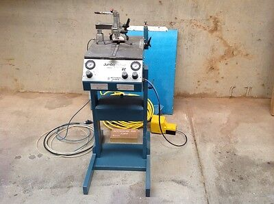 Picture framing tool joiner pneumatic V-nailer automatic machine made in Italy