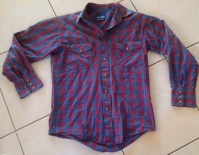 Mens Wrangler Long Sleeved Shirt