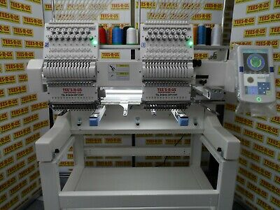 Single head cheap industrial 15 needle embroidery machine