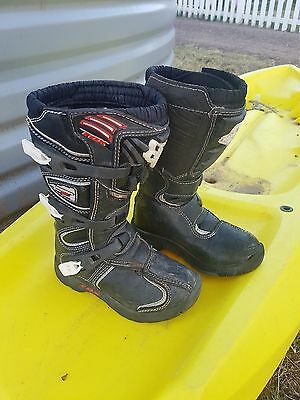 Fox Comp 5 youth kids Motocross dirtbike Boots Size 1