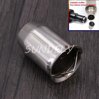 51mm Removable Metal Motorcycle Exhaust Can DB Killer Silencer Muffler Baffle