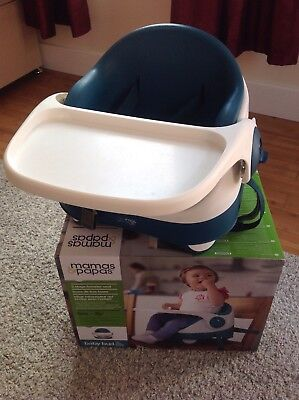 Mamas and Papas baby bud booster seat - Excellent Condition