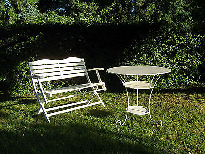 entz ckender jugendstil shabby chic vintage gusseisen garten balkon tisch eur 359 00. Black Bedroom Furniture Sets. Home Design Ideas