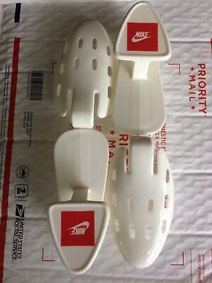 Vintage Nike Logo Shoe Tree - White Plastic - Adjustable From Size 7 To Size 13