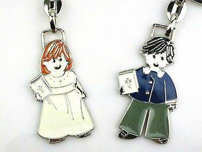 Girl Boy with Holy Bible Christening Baptism Confirmation Communion Favour Gift