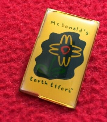 McDonald's Earth Effort Pin