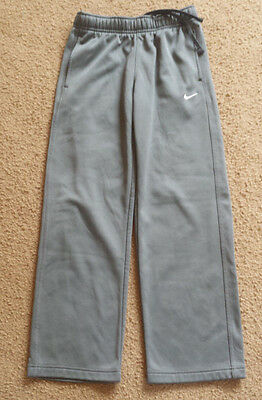 Youth Boys Nike Therma Fit Gray Sweatpants   Sz M   ** Excellent **