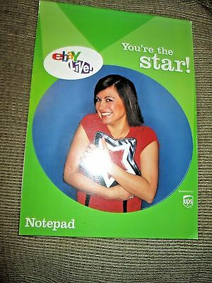 Rare * 2003 Ebay Live Notepad * New * You're The Star * Look
