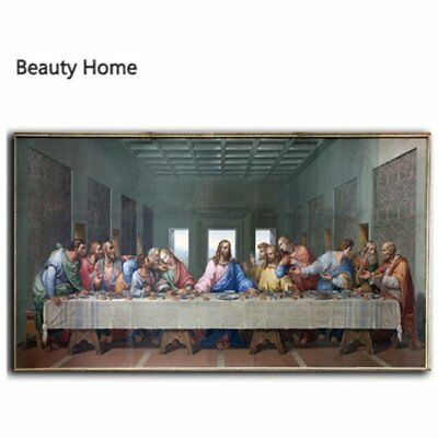 The Last Supper Jesus Christ Religious Picture 3D HD Oil Paintings European