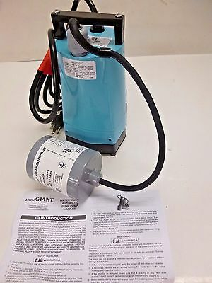 New!! Little Giant Utility Pump 1/6 Hp, 1 In Fnpt, Aluminum, 5-Asp-Fs