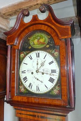 19th Scottish Mahogany 8 Day Longcase Clock
