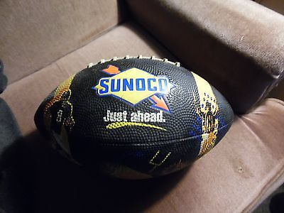 sunoco advertising football good graphics needs air due to being in storage