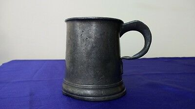 Antique Pewter Tankard (WR Verification)