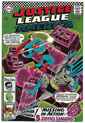 Justice League of America #52 F/VF 7.0 NICE! Movie Coming! .99 CENT SALE!