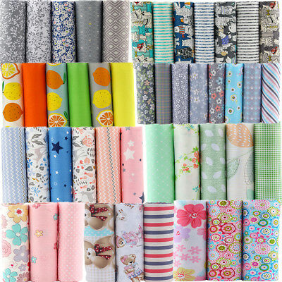 Stoffpaket  Stoffe Patchworkstoffe 100% Baumwolle Reste Fabric texil 40x50cm