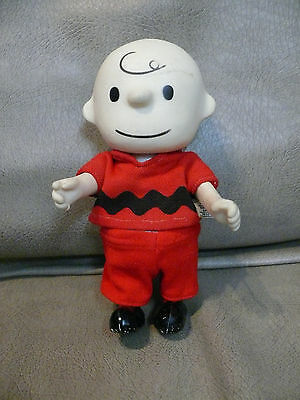 Vintage Charlie Brown Soft Rubber Pocket Doll United Feature Syndicate 1966