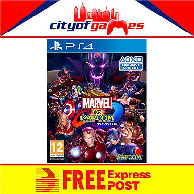 Marvel vs. Capcom Infinite PS4 Game New & Sealed 24 Hour Special Offer Ends 12am