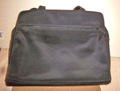 "Nine West Laptop/tablet Carrying Case - 14"" Wide 11 1/2"" Tall-Black Nylon - Used"