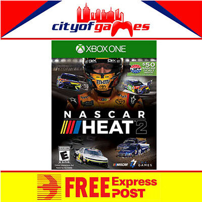 NASCAR Heat 2 Xbox One Game New & Sealed Free Express Post In Stock Now