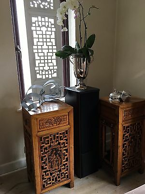 A Pair Of Antique Chinese Flower Stand - Very Rare