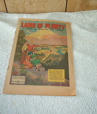 LAND OF PLENTY; Adventures In Science Series; '52
