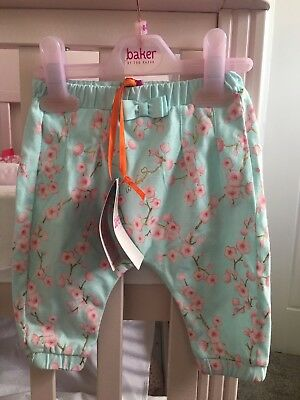 🌸🌸 Brand New Baby Girl Ted Baker Trousers 0-3 Months 🌸🌸