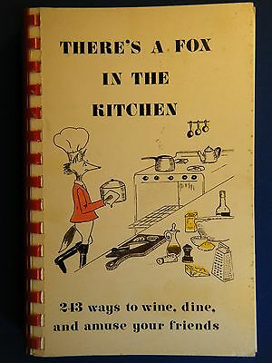 (Horse Show tie-in) THERE'S A FOX IN THE KITCHEN, by Anne Devereux, 1978 1st ed.