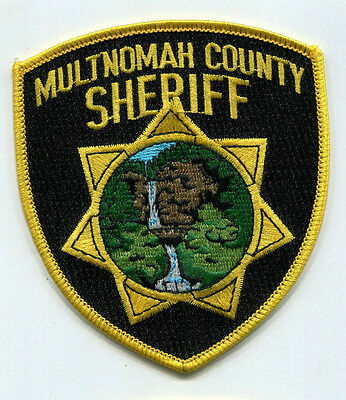 Multnomah County Oregon Sheriff Patch - OLD Style /// FREE US SHIPPING!