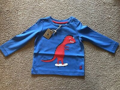 Joules Baby Boy Long Sleeve Top 6-9 Months BNWT