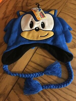 Sonic the Hedgehog Knit Hat *Brand New with Tags*