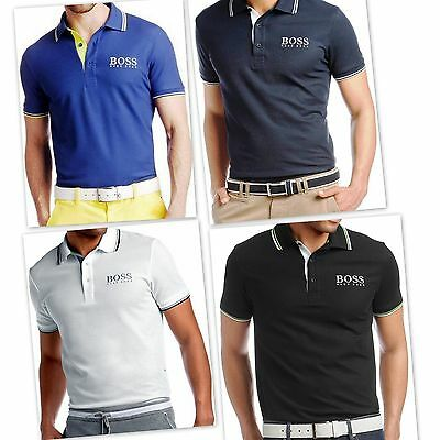 Hugo Boss Men's New Slim Fit T-shirt, Spring Collection Buy 3 & Get Free Postage