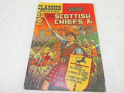 Classics Illustrated First Print 67 The Scottish Chiefs Hrn 67