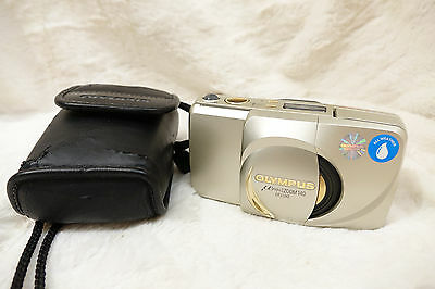 Olympus u[ MJU :] Zoom 140 Deluxe 35mm Film Camera limited gold ring edition